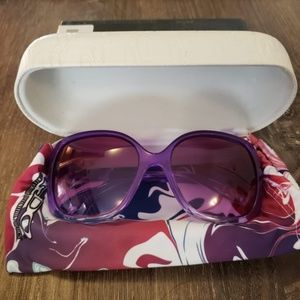 OAKLEY PURPLE VIOLET GRADIENT SUNGLASSES